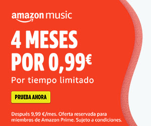 4 meses de Music Unlimited por 0,99€