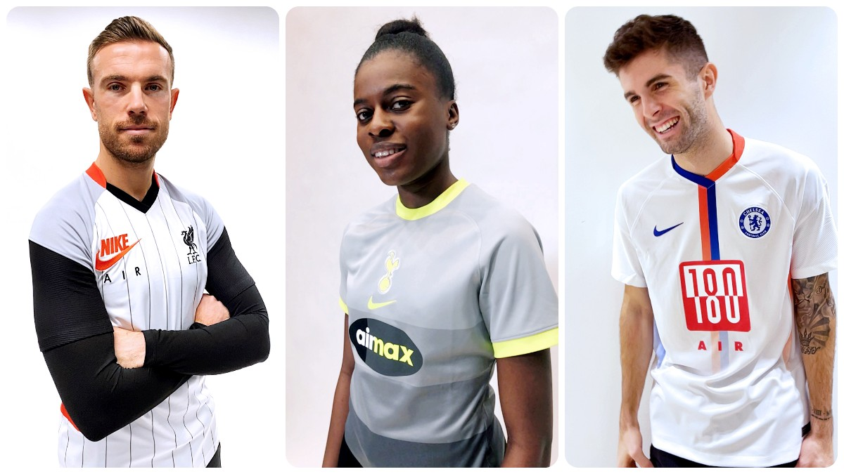 Nike Air Max T-shirt Collection for Chelsea, Liverpool and Tottenham