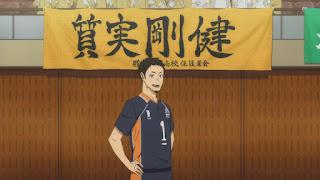 ハイキュー!! アニメ 2期15話 澤村大地   HAIKYU!! Karasuno vs Johzenji