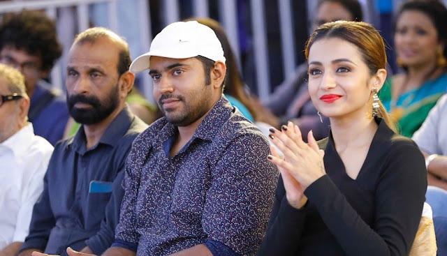 Trisha Krishnan In Black Dress
