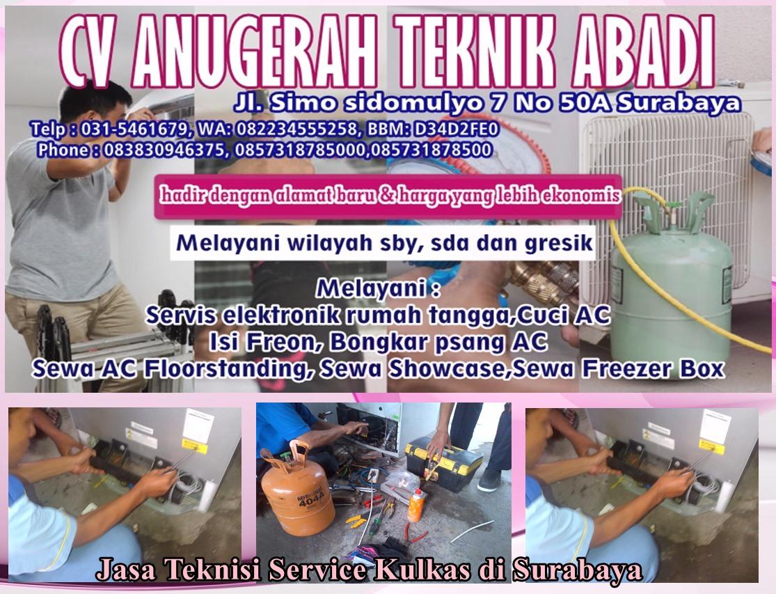 Tukang Service Kulkas Berbunyi Berisik Surabaya