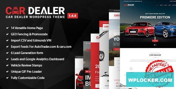 Car Dealer v1.5.3 - Automotive Responsive WordPress Theme