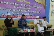 Wabup Kapuas Hulu Pimpin Safari Ramadhan di Silat Hilir