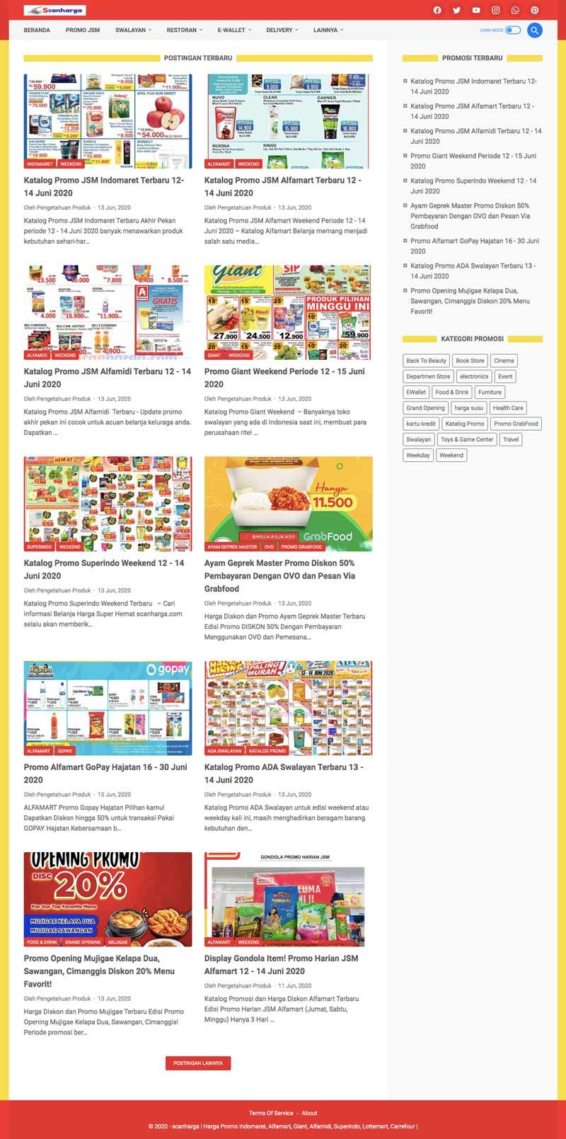 Info Promo dan Kode Kupon Indomaret Alfamart Shopee