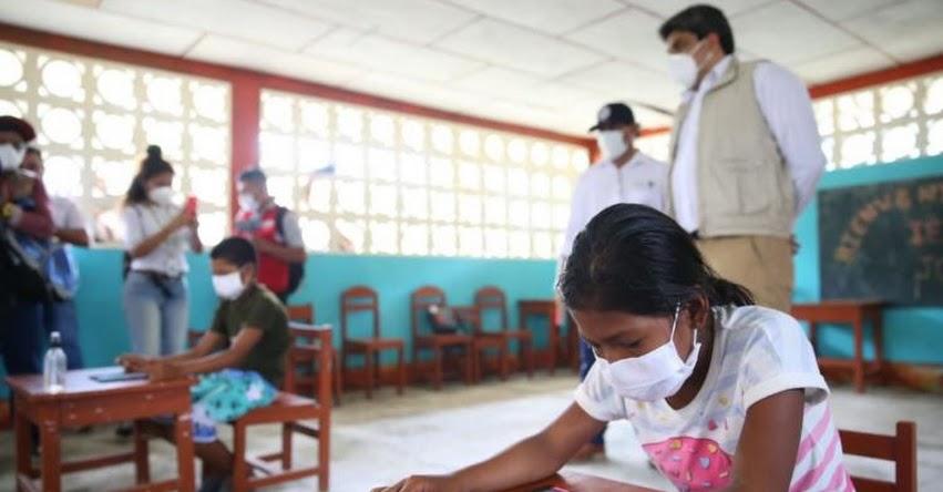 MINEDU está preparado para nivelar aprendizajes de escolares