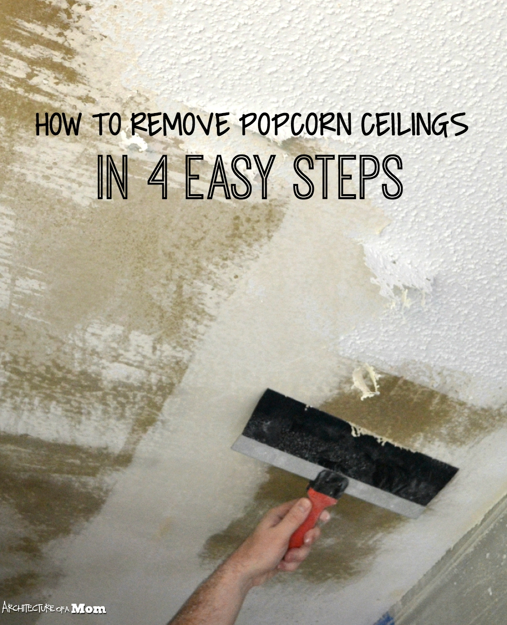 how can you get rid of popcorn ceilings integralbook
