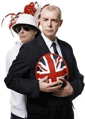 Foto de Pet Shop Boys en sesión fotográfica