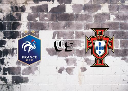Francia vs Portugal  Resumen y Partido Completo