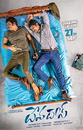 Poster Of Free Download Devadas 2018 300MB Full Movie Hindi Dubbed 720P Bluray HD HEVC Small Size Pc Movie Only At worldfree4u.com