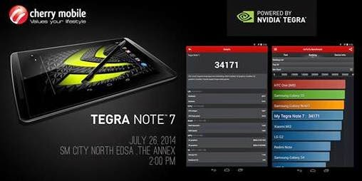 Cherry Mobile NVIDIA Tegra Note 7