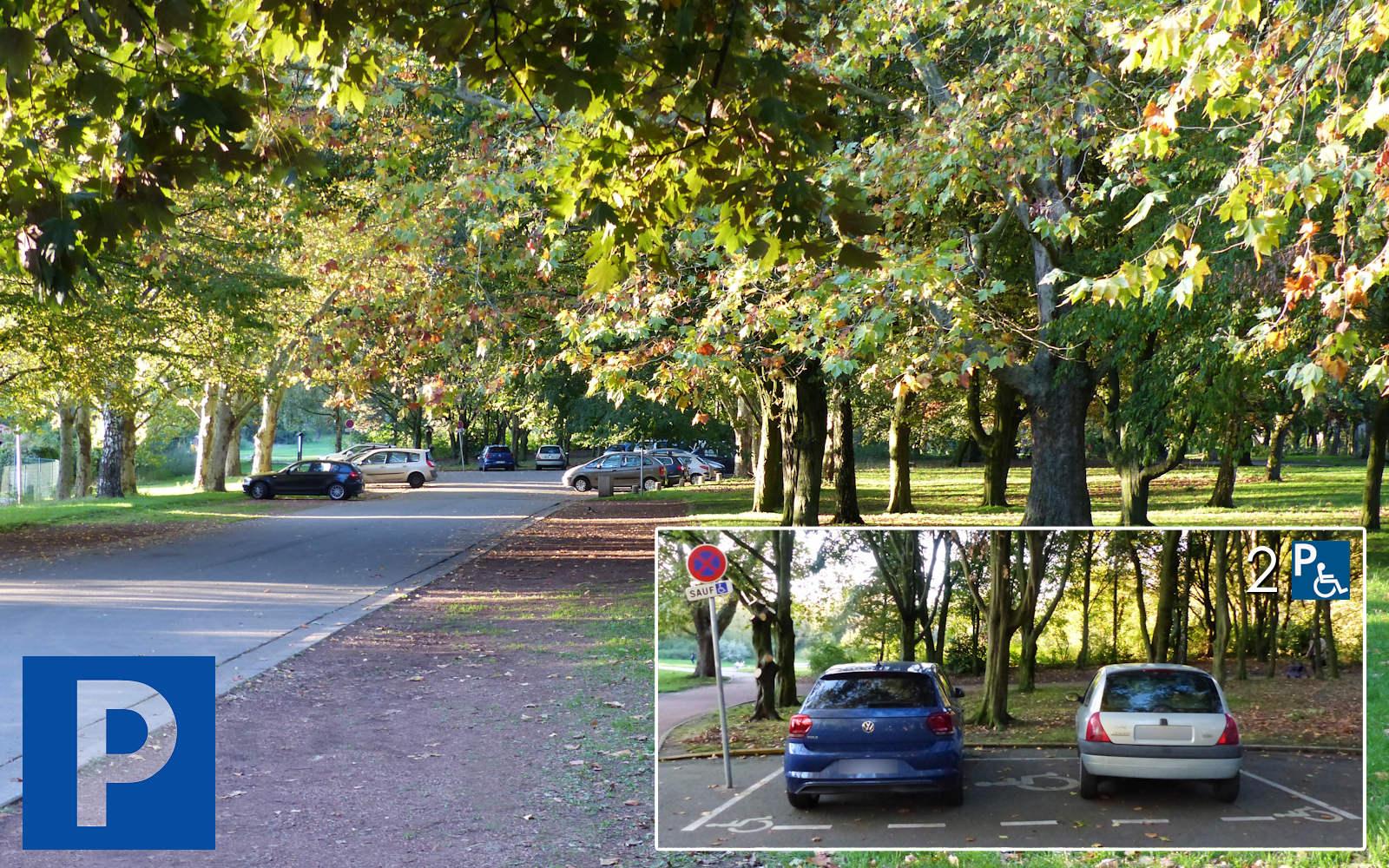 Parc de l'Yser Tourcoing - Parking