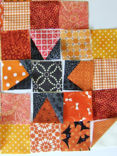 #QuiltBee: wonky stars
