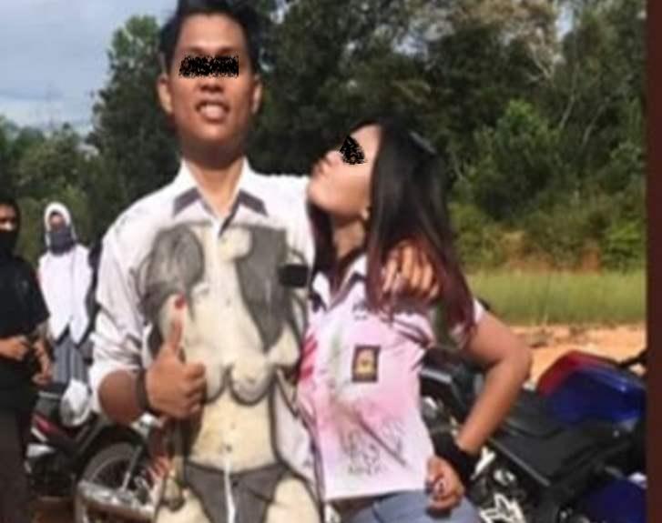 Viral !! Rayakan Kelulusan Secara Vulgar, Pelajar SMAN 1 di Rohul Bikin Heboh