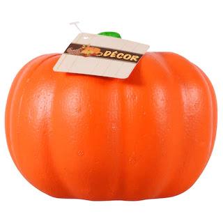 orange foam craft pumpkin