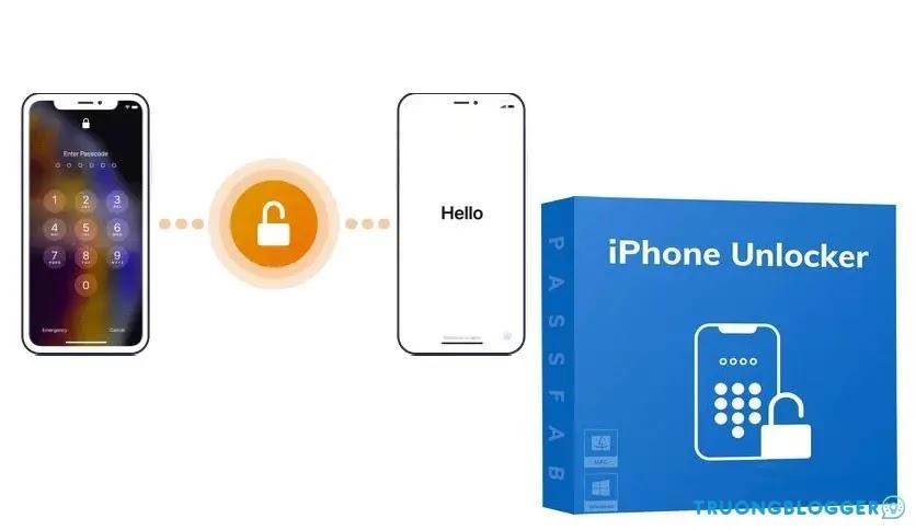 PassFab iPhone Unlocker 2.4.2.4 - Công cụ mở khóa iPhone và iPad