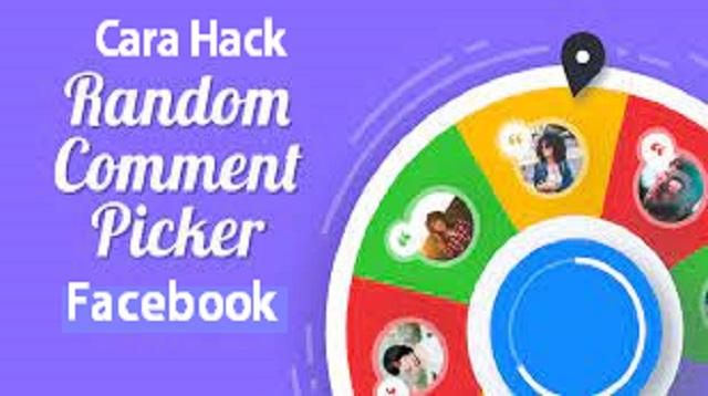 Cara Hack Random Comment Picker Facebook