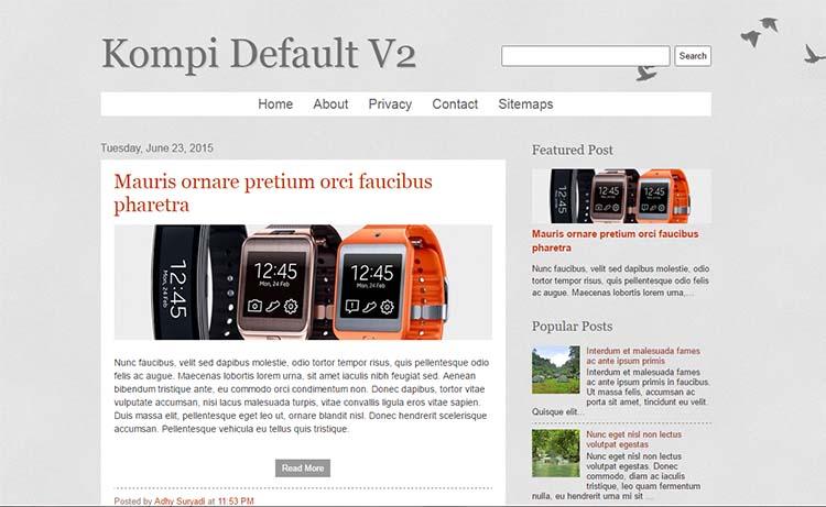 Update Responsive Default Blogger Template Untuk Daftar Adsense
