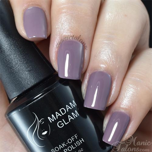 Madam Glam Gel Polish Twilight Lilac