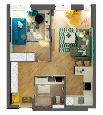 Квартира в 42 кв. метра