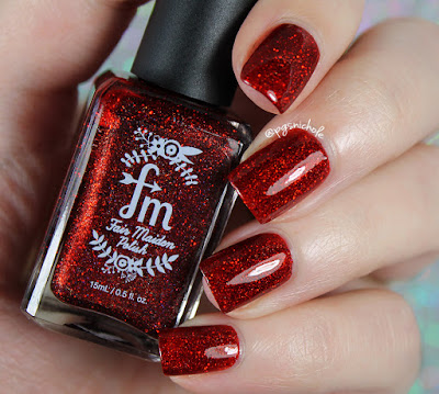 Fair Maiden Polish ♥x3 | Merry Grinchmas Collection