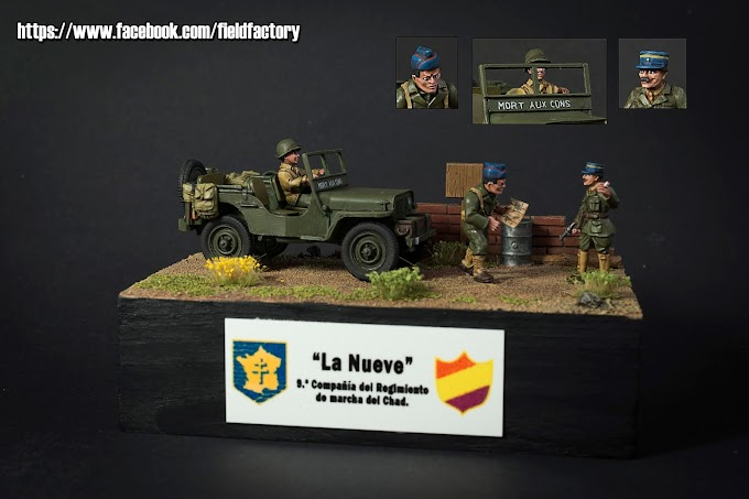 Escena Segunda Guerra Mundia, La Nueve.