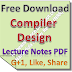 Lecture Notes on Compiler Design PDF Download
