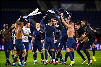 """تعرف على ترتيب الدوري الفرنسي بعد إلغاء الموسم الحالي """"باريس يتتوج بالدوري"""""""