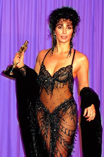 Cher at the 1988 Academy Awards