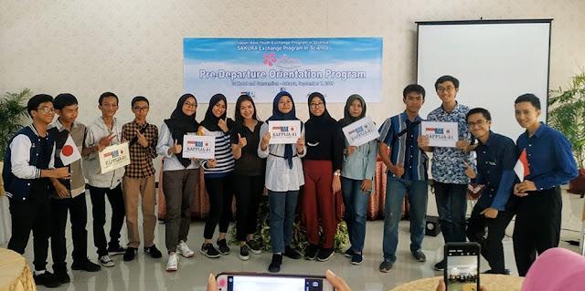 12 Pelajar Indonesia Ikuti Program Sakura Science