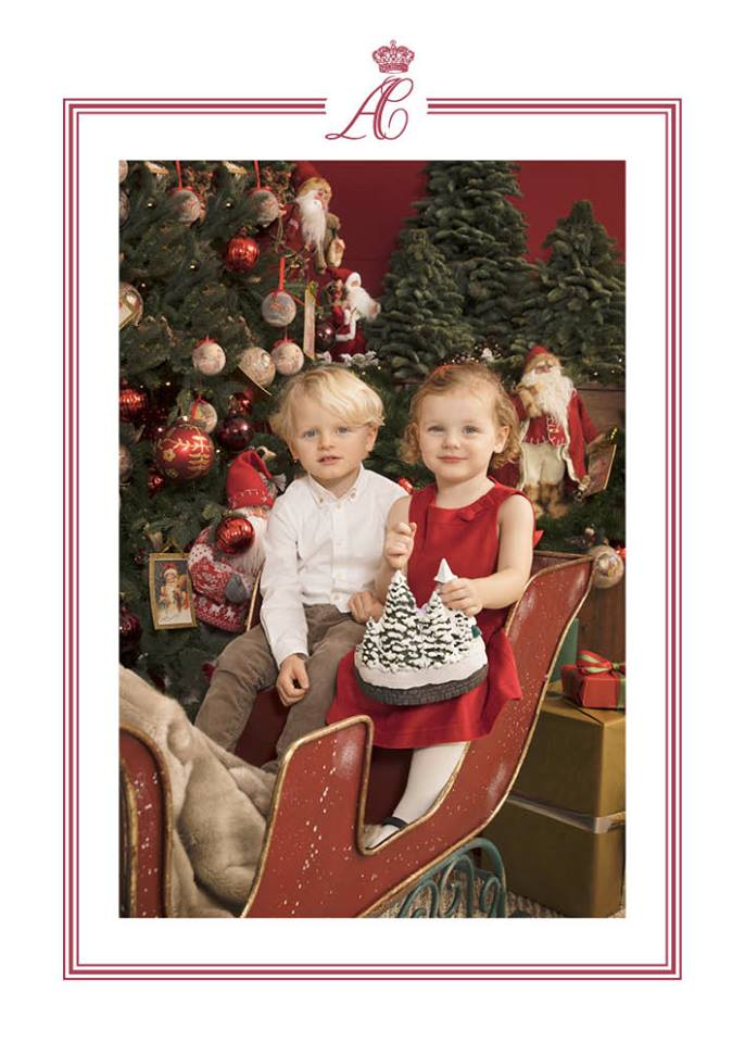 A Princess For Christmas Poster.The Royal Children Monaco Pf Prince Jacques And Princess