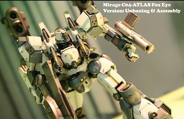 Kotobukiya Armored Core Model Kit Build Part 1A