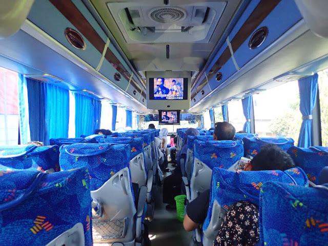 fasilitas bus big bird