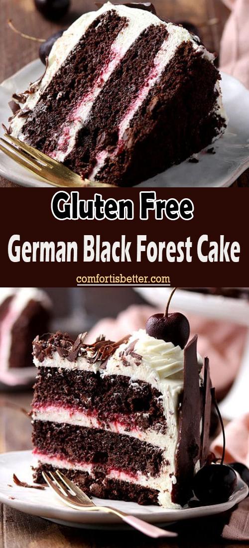 Gluten Free German Black Forest Cake