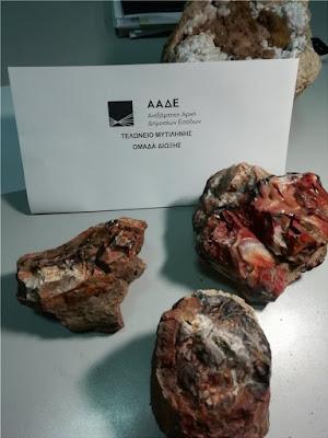 Έκλεψαν απολιθώματα από το Απολιθωμένο Δάσος της Λέσβου