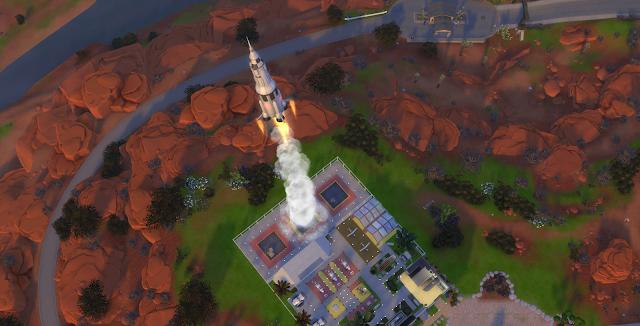 Секретная космическая локация Сиксим в The Sims 4 - обзор, интересности, советы