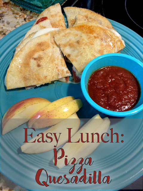 Easy Lunch Pizza Quesadillas