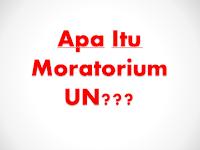 Apa Itu Moratorium UN?