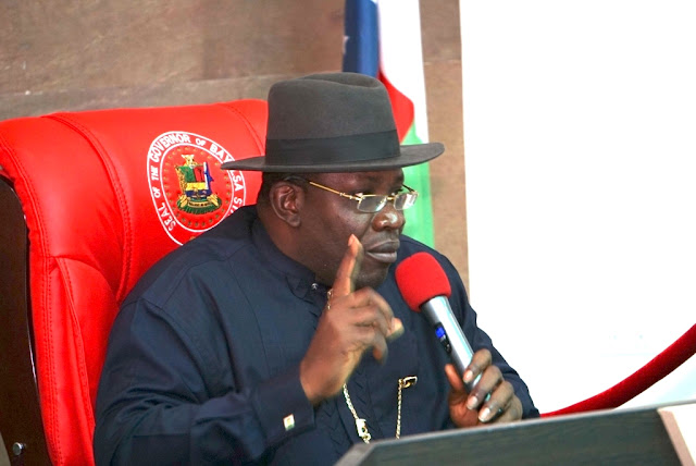 Image result for Paris Club refund: Bayelsa to pay one and half salary arrears