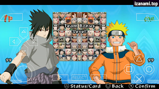 (80MB) Naruto Ultimate Ninja Impact MOD Storm Generation PPSSPP sur Android