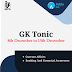GK Tonic for RBI Assistant Mains 2017 (08th December to 15th December)