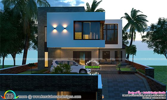 Awesome contemporary 400 sq-yd house plan