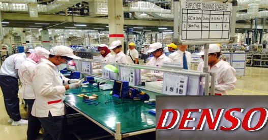 Lowongan Kerja SMA SMK D3 S1 PT. Denso Indonesia Group, Jobs: Operator Produksi, Machinery, Production, Maintenance.