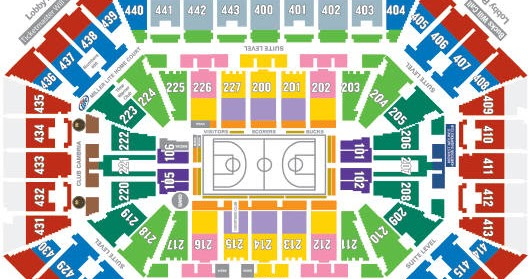 Ticket King Milwaukee Wisconsin Where To Sit At The Bmo Harris Bradley Center