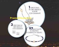 """Sigma """"Grande Concorso Comete Gioielli """" : vinci oltre 100 gioielli ( bracciali, orecchini e girocollo con diamanti)"""
