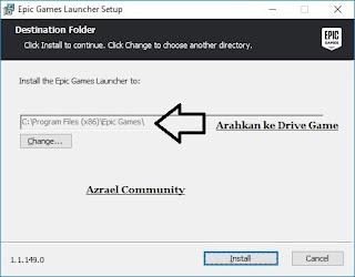 Cara Mudah Install Dan Fix Epic Games Fortnite