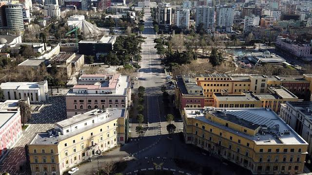 ΚΟΡΩΝΟΪΟΣ: Στρατιωτικός νόμος για 40 ώρες στην Αλβανία