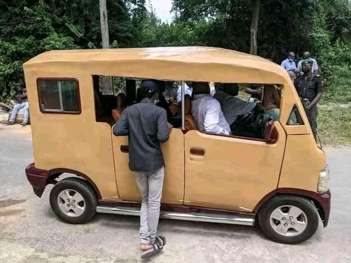 Made In Nigeria Electric Car By UNILAG Engineering Students.