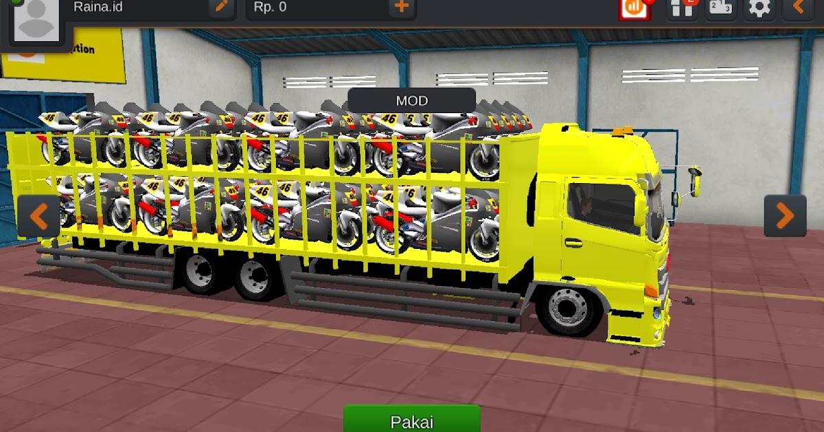 13 Mod Bussid Khusus Truck Koleksi Pilihan Keren Terbaru Raina Id