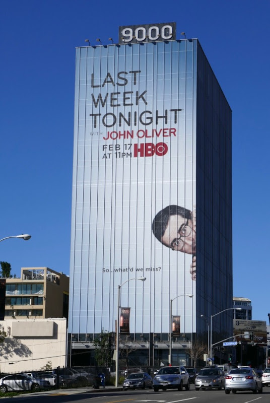 Last Week Tonight John Oliver season 6 billboard