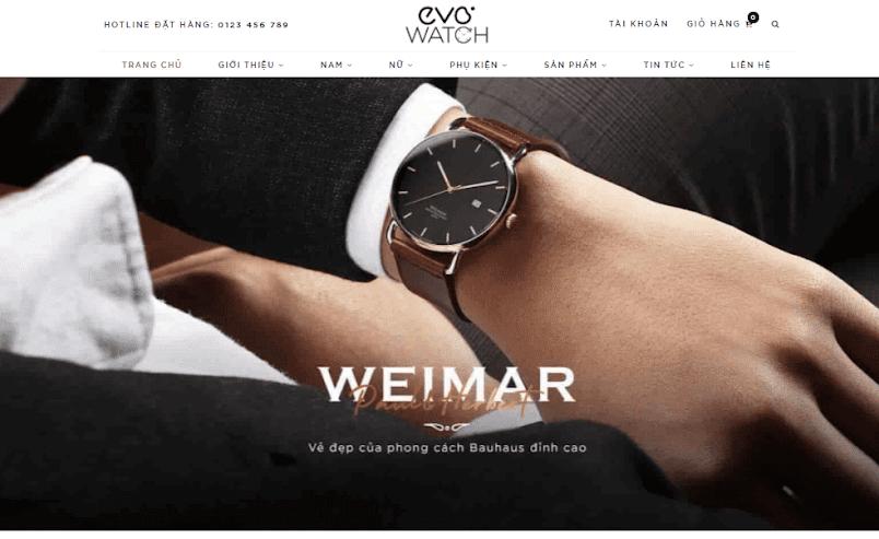 Template blogspot bán đồng hồ